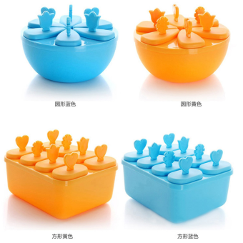 Toxic mold creative diy popsicle mold ice cream popsicle ice cream ice cream mold ice lattice with lid Price in Singapore