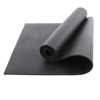 Multifunctional Anti-slip Yoga Mat 10mm Natural Rubber Yoga Mats(Black) - intl
