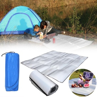 Weiyue-New 1M*2M Outdoor Camping Picnic Sleeping Mattress Pad Waterproof Foil EVA Mat - intl