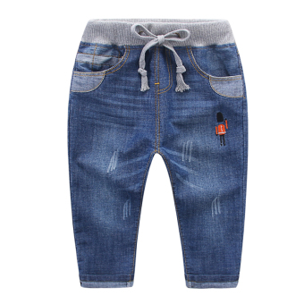 Baobao New style boy's spring casual cowboy long pants