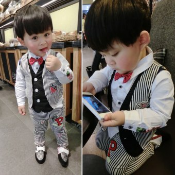 e3932c4cf The Price Of Boys Suit 2017 Summer New Style In Small Children ...