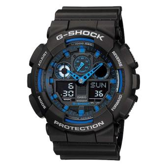 Casio G-Shock Extra Large Series GA100-1A2 GA-100-1A2 Watch