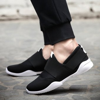 Casual Low Top shoes/men's shoes/breathable shoe OTO1 (Black)