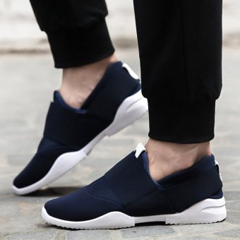 Casual Low Top shoes/men's shoes/breathable shoe OTO1 (Blue)