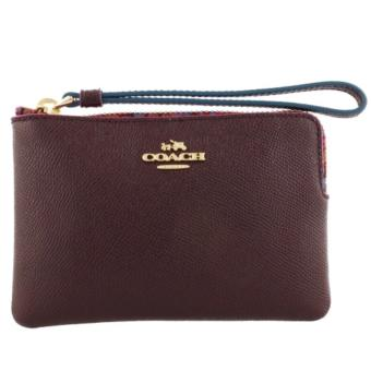 Coach F23644 Corner Zip Wristlet with Edgepaint