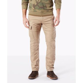 Dockers Premium Cargo Slim Tapered Pants Khaki