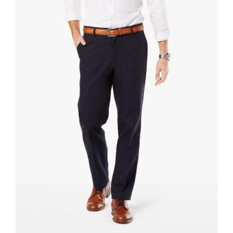 Dockers Signature Stretch Khaki Straight Pants Dockers Navy