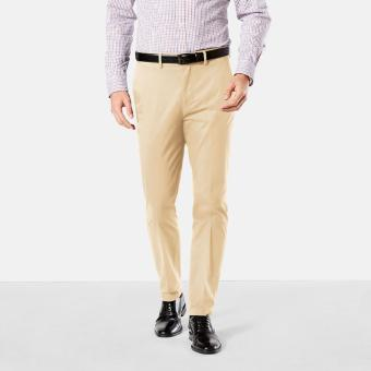 Dockers Signature On the Go Khaki Slim Pants Sand Dune