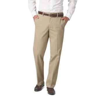 Dockers Signature On the Go Khaki Straight Pants Sand Dune