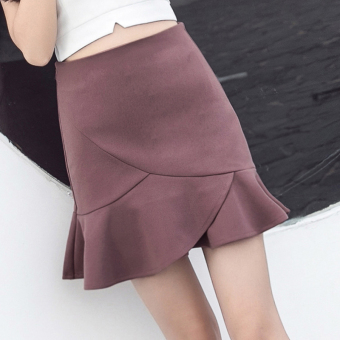 Female not rule summer anti emptied skirt skirts a word skirt (Red bean paste) (Red bean paste)