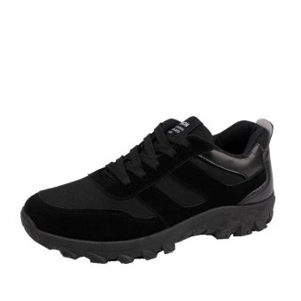 Fashion sneakers/casual shoes/men's shoes/breathable OTO1 (Black)