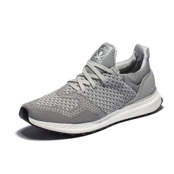 Fly line mesh women mesh running shoes athletic shoes (Gray)