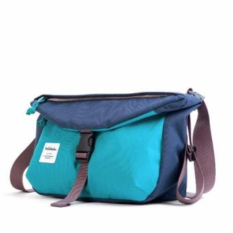 Harga Hellolulu Duff All-Day Shoulder Bag (Navy-Sky Blue)