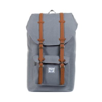 Harga Herschel Supply Co Backpack (Design 1 Grey Full Volume)
