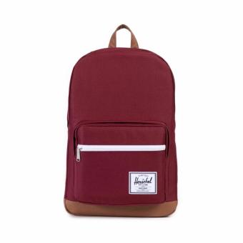 Harga Herschel Supply Co - Pop Quiz - Maroon/Tan