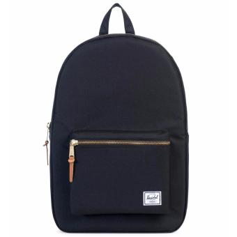 Harga Herschel Supply Co. Settlement Backpack - BLACK COLOR