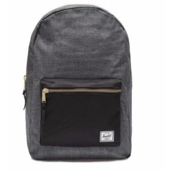 Harga Herschel Supply Co - Settlement - Charcoal Crosshatch Black