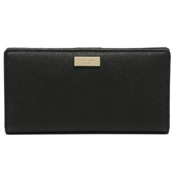 Harga Kate Spade Laurel Way Stacy Wallet Black # WLRU2673