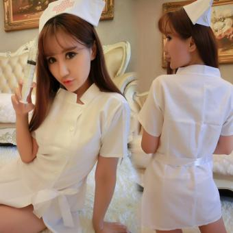 Harga Feng Sheng Sexy Women Nurse Costume Uniform Sexy Lingerie Suit Cosplay Masquerade Costume - intl