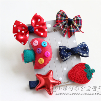 Harga Girls' cute hair accessory set