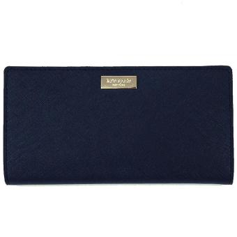 Harga Kate Spade Laurel Way Stacy Wallet Offshore Navy # WLRU2673