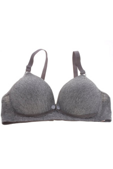 Harga Hang-Qiao Maternity Nursing Bra (Dark Grey)