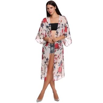 Search Singapore Stylish Ladies Women Elegant 3 4 Wide Sleeve ...