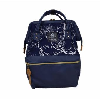 Harga Japan Sun Earth & U new design backpack school bag shoulder bag Japan Hot-selling PU navy