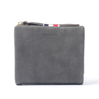 Harga Simple day Korean-style student matte wallet Ms. wallet
