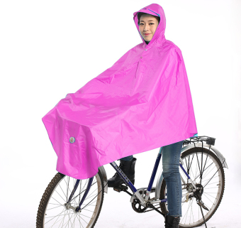 Harga Paradise fashion single men and women riding bicycle raincoat poncho