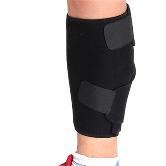 Adjustable Calf Shin Support Wrap Brace Band Bandage Splint Sleeve Injury Guard - intl
