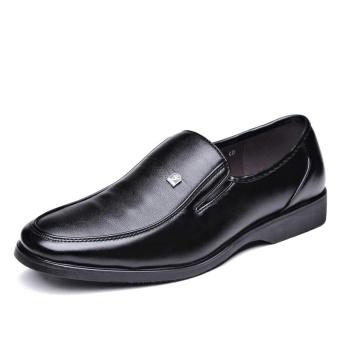 Harga Men's Business and Leisure Style Leather Shoes Fashion Designed High Quality Soft and Comfortable Leather Shoes - intl