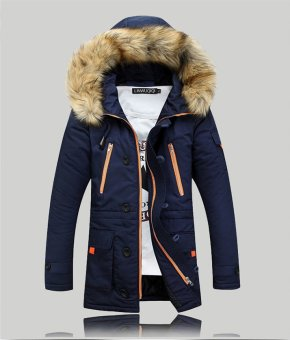 Harga New Arrival Men and Women's Winter Coat Couple's Coat Thick Padded Jacket Korean Version of The Trend Hot Selling - intl