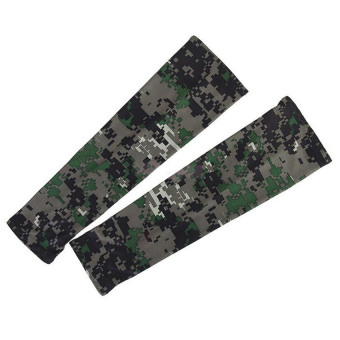 Harga Velishy Arm Sleeves Sun UV Protection Cover Camouflage - intl