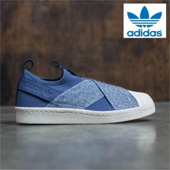 Harga Adidas Originals Superstar Slip-on Shoes S76410 Express Tech Ink - intl