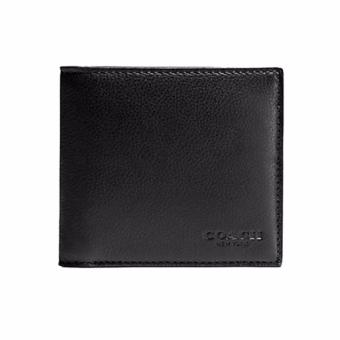 Harga Coach MENS DOUBLE BILLFOLD WALLET IN CALF LEATHER (F75084)