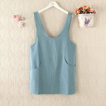 Harga Women's stylish denim tank dress