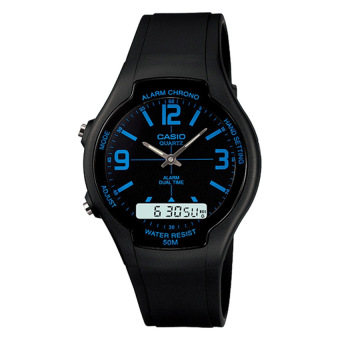 Harga Casio Analog Digital Dual Time Watch AW90H-2B
