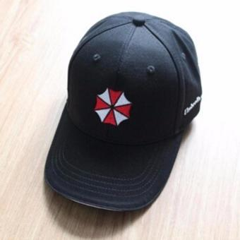 Harga Hequ brand new chic Resident Evil Umbrella Corporation Black Embroidery Logo Cap Hat Baseball Hat Valentine's Day present - intl