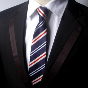 Harga Iraqi health cool men's lazy tie zipper tie easy to pull the dnd business suits wedding men