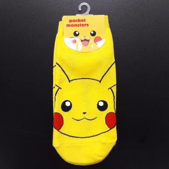 Harga Cute Korean socks - Pokemon - Pikachu