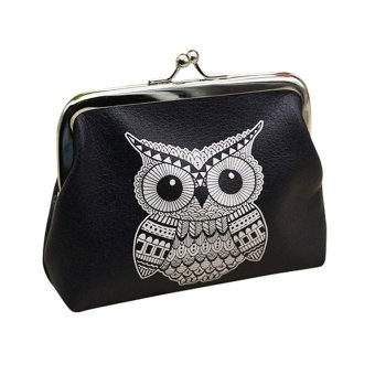 Harga Wallets For Womens Owl Pattern Female Wallet Card Holder Wallet