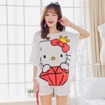 Harga Sweet bat Bag loose tracksuit pajamas