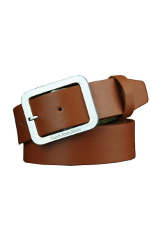 Harga Mens PU Leather Strap Men Belts (Brown)