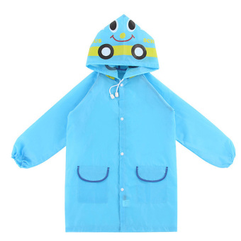 Harga PAlight Kids Cartoon Waterproof Rain Coat (blue)