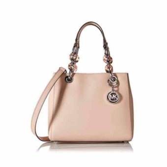 Harga Michael Kors Cynthia Small North South Leather Satche 30H5SCYS1Ll