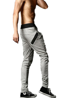 Harga Hang-Qiao Harem Pants Trousers Leisure Casual Pants (Grey)