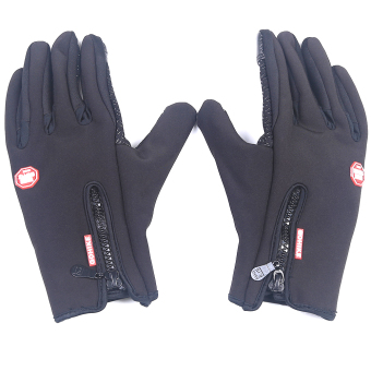 Harga Touch Cold Wind Fleece Gloves Xl Code