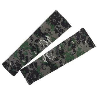 Harga Arm Sleeves Sun UV Protection Cover Camouflage - intl
