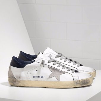 Harga Golden Goose DB Super Star Sneakers IN Leather With Suede Star Golden Goose Online - intl